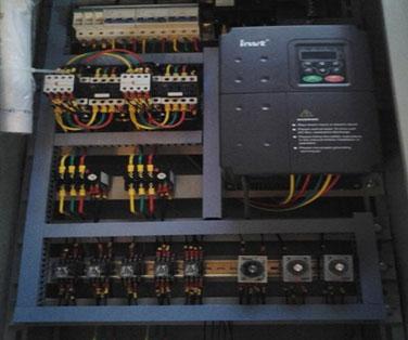 喷泉柜电器接线图